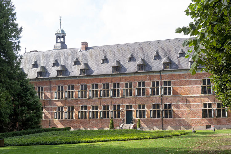 Castle of Reinbek near Hamburg, Schleswig-Holstein, Germany Architecture Built Structure Building Exterior Plant Sky Nature Building The Past Grass Tree History No People Day Window Travel Destinations Low Angle View Old Outdoors Dome Lawn Reinbek Schleswig-Holstein