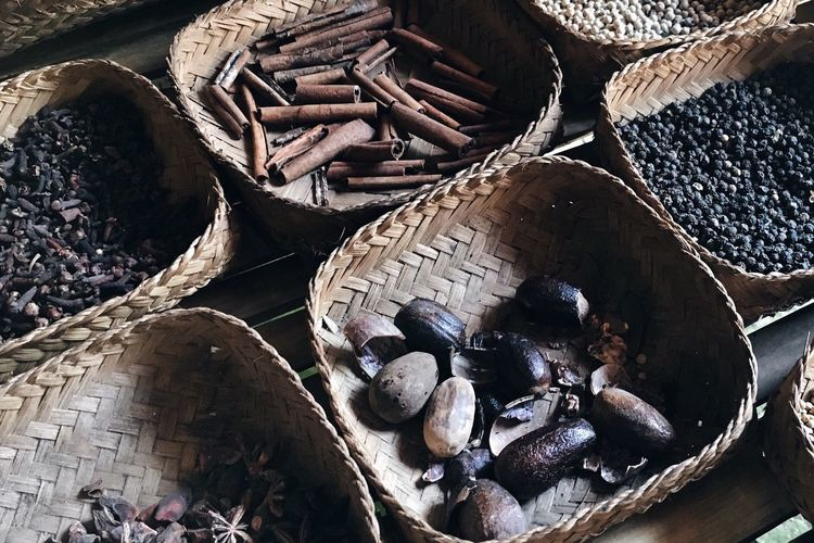 Herbs Cinnamon Spices Of The World Spices Herbs For Coffee Balinese Herbs Exotic Spices Balinese Spices