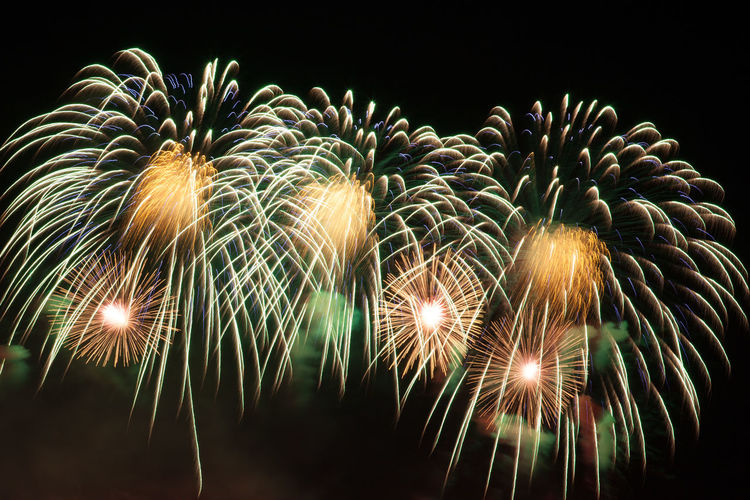 colorful fireworks City At Night Colorful Entertainment Firework Firework Display Glowing Illuminated Multi Colored Night