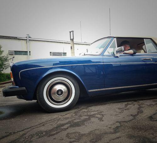 Rolls Royce Corniche 1971 Retro Styled Outdoors Car Vehicle Luxury Lux Vintage Rolls Royce Rollsroyce Corniche 1971 Blue Convertible Coupè
