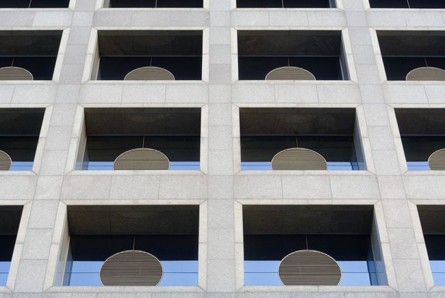 Architecture Built Structure Building Exterior Full Frame Building Low Angle View Window No People Day Pattern Backgrounds Outdoors Arch Design Sunlight Glass - Material Shape Nature Repetition Geometric Shape