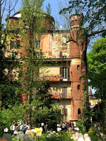 Hidden places Brera Orto Botanico Architecture Building Exterior Built Structure Plant Building Tree Day