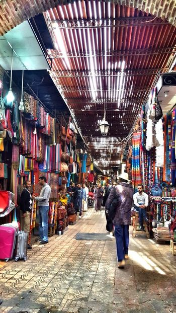 Daily life in Marakesh... Souks Morocaine Souks Marocaine Culture Store Cultures Travel Destinations Market Stall Tourism Market Large Group Of People Retail
