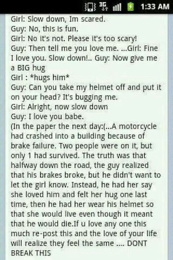 I love my boyfriend. but this is a real man. how many boys now would do this??