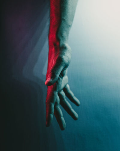 The hand of life
