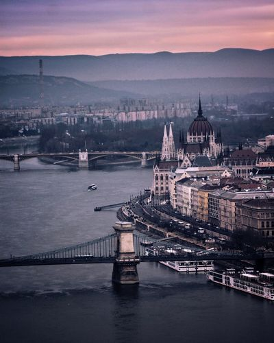 Budapest Budapest Streetphotography Budapest, Hungary cityscapes Landscape Landscape_Collection Landscape_photography EyeEmNewHere Politics And Government City Cityscape Urban Skyline Sunset Bridge - Man Made Structure Ferris Wheel Place Of Worship Cultures Government Adventures In The City