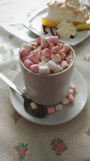 Eyeemphoto Breakfast Hot Chocolate Marshmallows