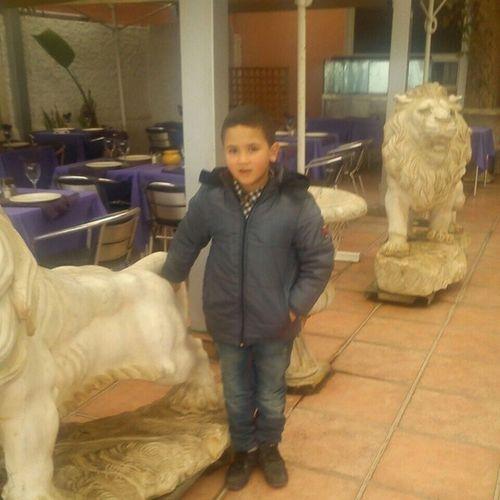 Ma Kebedaa in Morocco I Miss him Alot :**