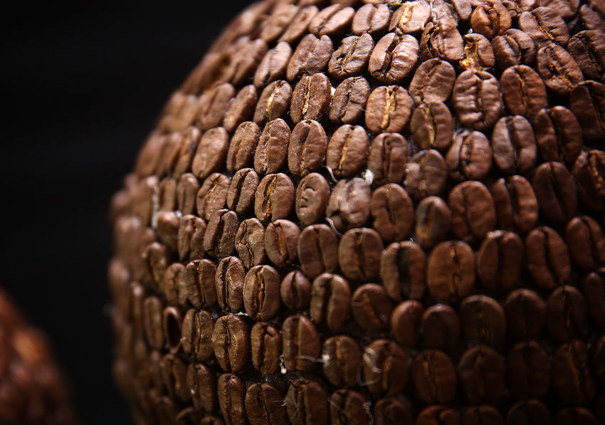 Coffee Coffee Time Abundance Backgrounds Black Background Brown Close-up Coffe Coffee Cup Coffee Seeds Food Food And Drink Full Frame Healthy Eating Indoors  Large Group Of Objects No People Pattern Selective Focus Still Life Studio Shot Textured  Vegetable Wellbeing Wood - Material