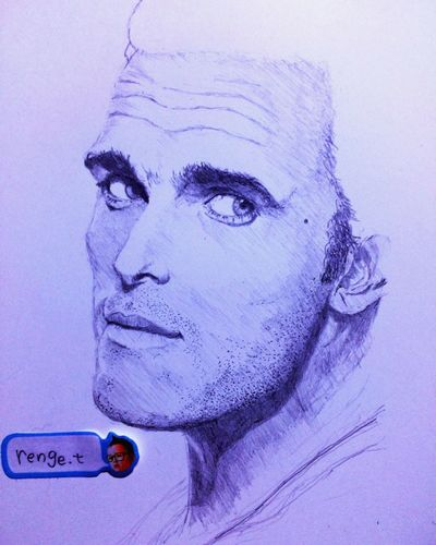 Portrait Hello World ArtWork Pencil Drawing Art Drawing Art, Drawing, Creativity MyDrawing Matt Dillon Outsiders  Rumble Fish