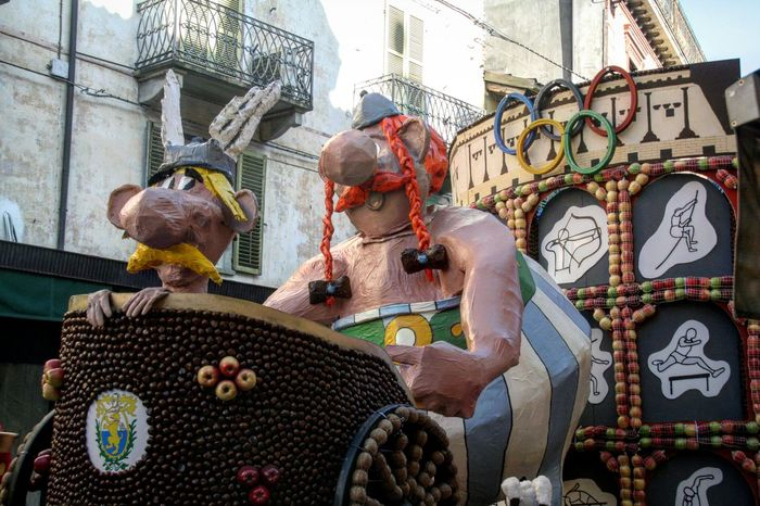 Carnival Saluzzo Italy 2017 EyeEm Gallery Popular Photos Trending Photos Carnival Float EyeEmBestPics EyeEm Team Saluzzo  Celebration Carnival Asterix And Obelix Popular Cultures Outdoors Uniqueness Eyeem Market Costume Happiness Tradition Carnival Crowds And Details Let's Go. Together.
