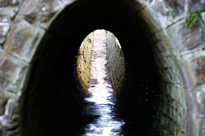 Light at the of the tunnel • Light Tunnel Lightattheendofthetunnel Contrast 50mm F1.8 Greyscale Canon Landscape Underpass Monochrome Field Of Depth