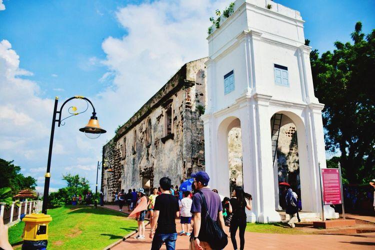 new year trip 2015 St.Pauls Church Malacca Malaysia Repicturetravel