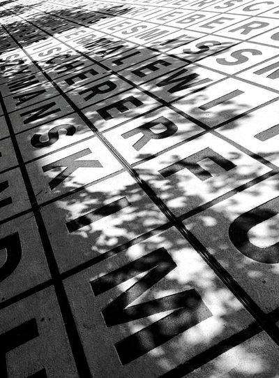 Art Exhibition Abstract Streetphoto_bw Letters