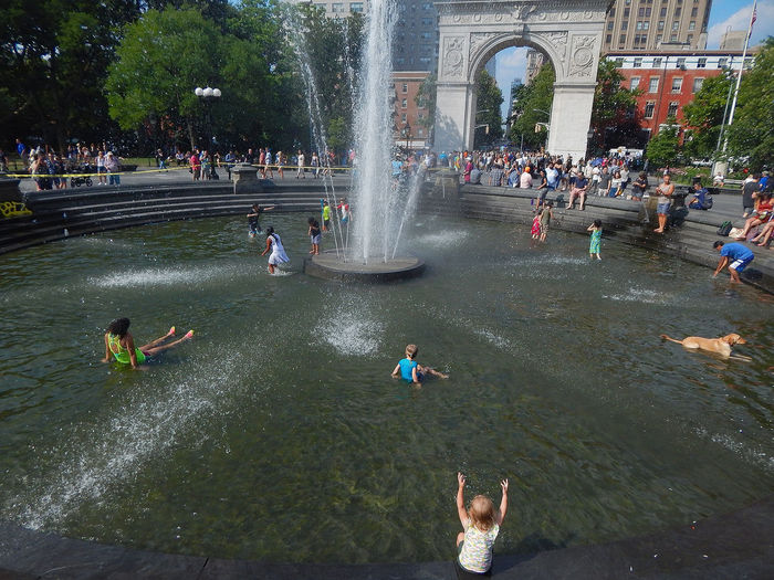 Kids cool off in the fountain in New York City Fountain Kids Architecture Building Exterior Built Structure Crowd Day Flowing Water Fountain Group Of People Large Group Of People Leisure Activity Lifestyles Men Mixed Age Range Nature Outdoors Pool Poollife Real People Spraying Tourism Water Waterfront Women The Street Photographer - 2018 EyeEm Awards Summer Road Tripping The Still Life Photographer - 2018 EyeEm Awards
