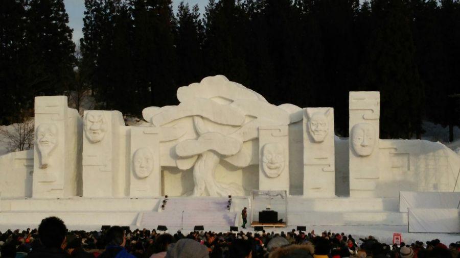 雪上ステージ 最後まで見てきたよ🎵