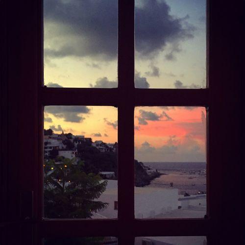 Sunset Window Colors