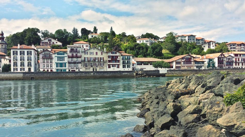 BasqueCountry Pays Basque Saint Jean De Luz, France France Sea House Port Maison Mer