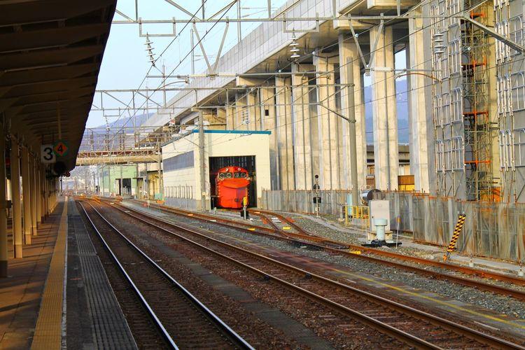 Empty Railroad Station