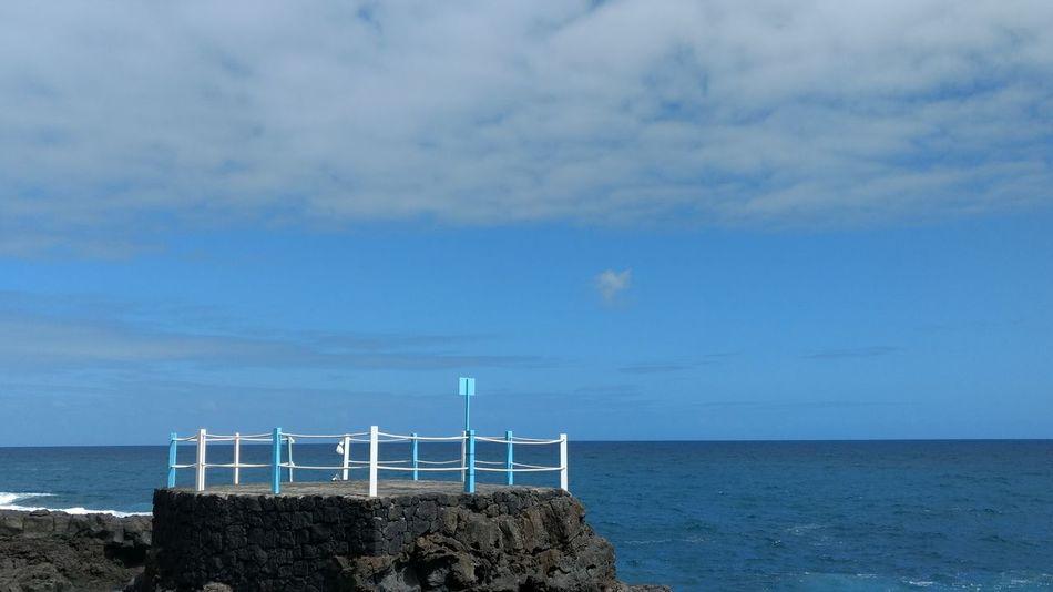 Blue Canary Islands La Palma Island Summer Swimming Pool Travel Destinations Vacation Water Reflections