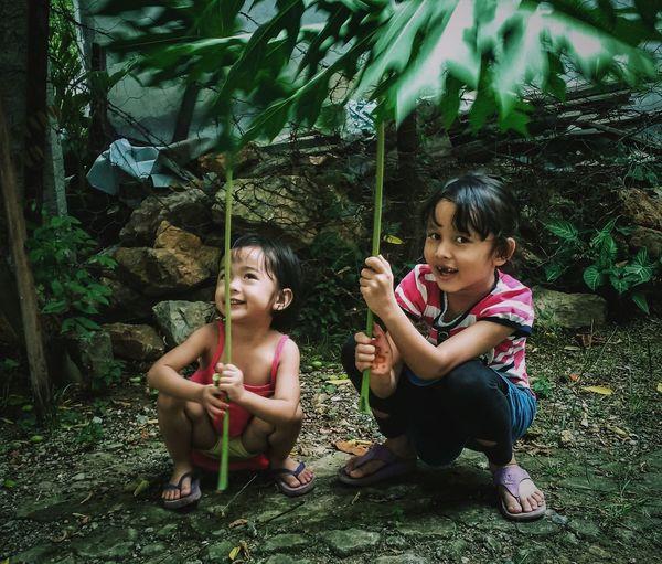 The Portraitist - 2016 EyeEm Awards The Great Outdoors - 2016 EyeEm Awards Kidsphotography Taking Photos Eye4photography  Portrait Portrait Photography Kids Being Kids Asian Children Outdoors Green Children Photography PortraitPhotography Everyday Emotion