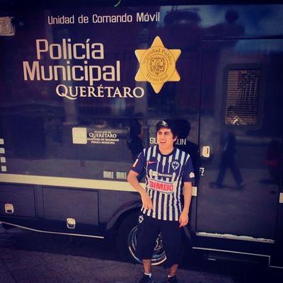 Me Querétaro Rayado Rayados gallosblancos monterrey police policia mex mexico hinchamundialista hinchas ligamx ligabancomermx vamosrayados