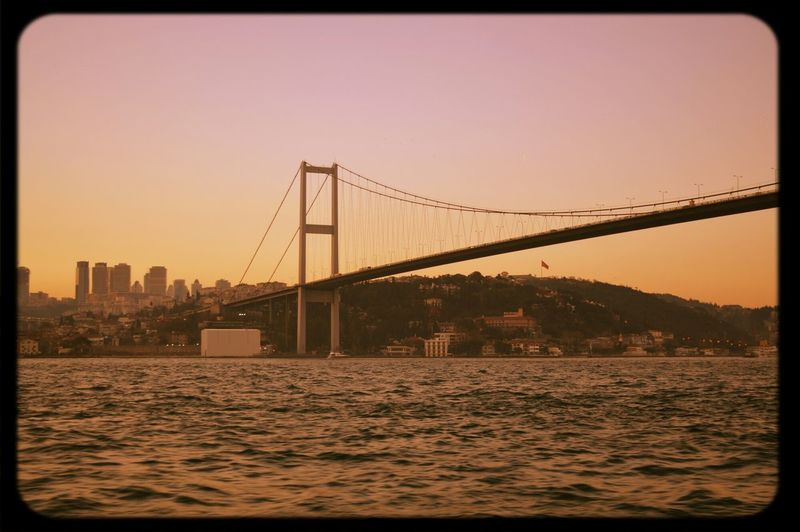 Bridge Istanbul Sea Ship First Eyeem Photo