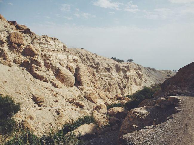 Eingedi NatureReserve Mountains Deadsea Israel