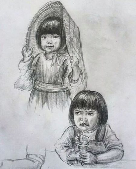 Japanesekids Sketchoftheday  Sketchbook Dailysketch Drawing Doodling Sketching