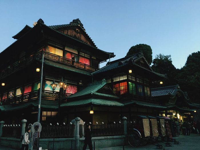 Dougoonsen Japan Architecture Built Structure Building Exterior Sky Building Low Angle View No People