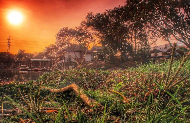 Telaga ngipik Landscape #Nature #photography Landscape Sunrise_sunsets_aroundworld Sunset