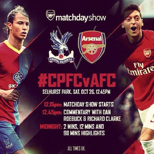CrystalPalace - Arsenal ●  CPFCvAFC