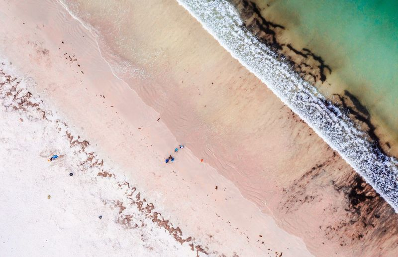 Diagonals Shore A Different View A Different Perspective On Market EyeEm Gallery Ocean Drone  Diagonal Lines Coast Angles On Market Environment Water Land Nature Day No People High Angle View Outdoors Sand Beach Scenics - Nature Sea