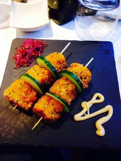 Japanese Food frizzball au saumon 😍 Restaurant Food