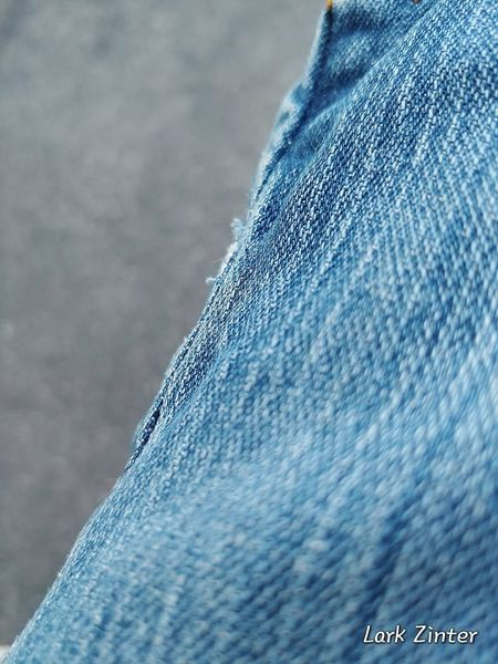 Denim Fabric LG V30 Textures and Surfaces Fabric Texture Tangled Up In Blue When Bordem Strikes Wicked Wednesday Blue Close-up Cloth Textile Jeans
