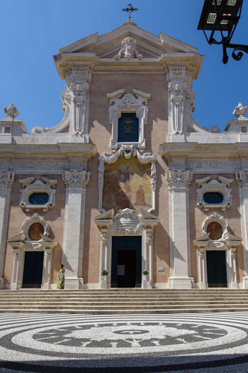 Albissola Marina Church Façade Liguria,Italy Architecture Building Exterior Built Structure Day History Italy No People Outdoors Place Of Worship Religion Sculpture Sky Spirituality Statue Travel Destinations