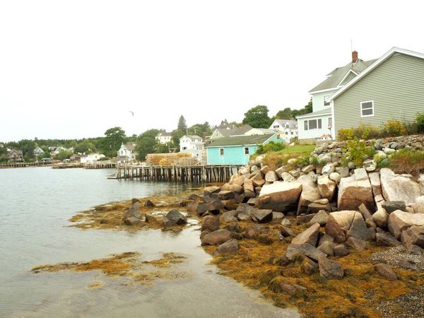 Deer Isle, Maine Deer Isle Architecture Building Exterior Water Built Structure Building Sky Clear Sky House No People Waterfront
