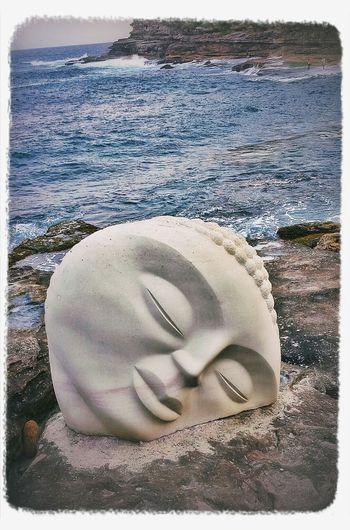 Dusk.......Sculpturesbythesea2013