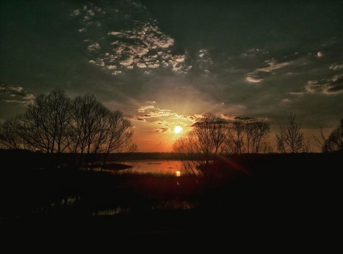 Nature Almetyevsk Sunset