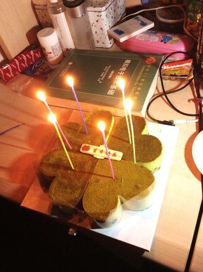祝我生日快乐🍰
