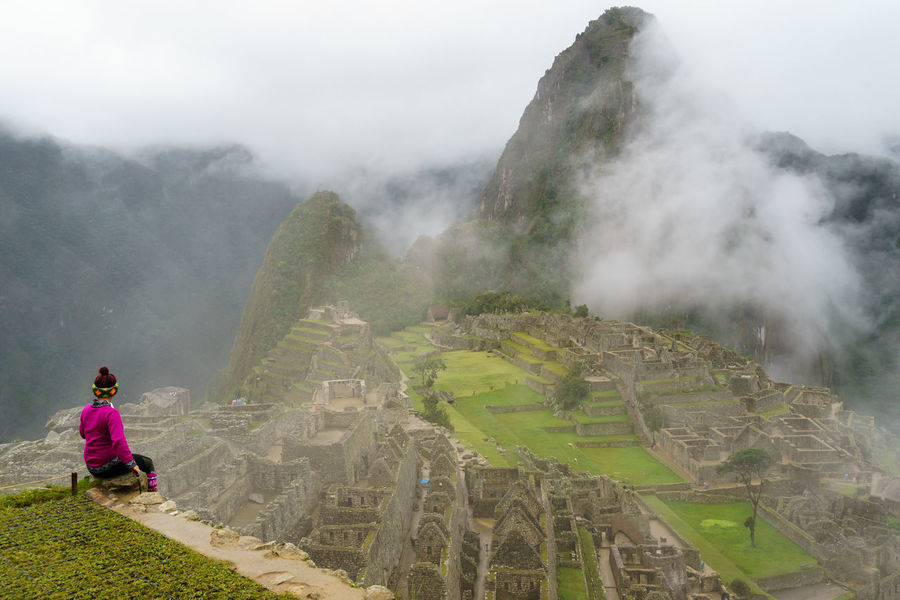 Colour Your Horizn America Anden Bucket List Women Who Inspire You How Do We Build The World? Fog Hike Inca International Landmark Machu Picchu Mountain Old Peru Rain Ruins Sky Sky And Clouds South Tourist Landscapes With WhiteWall Here Belongs To Me Unesco World Heritage Up Close Street Photography Adventure Club