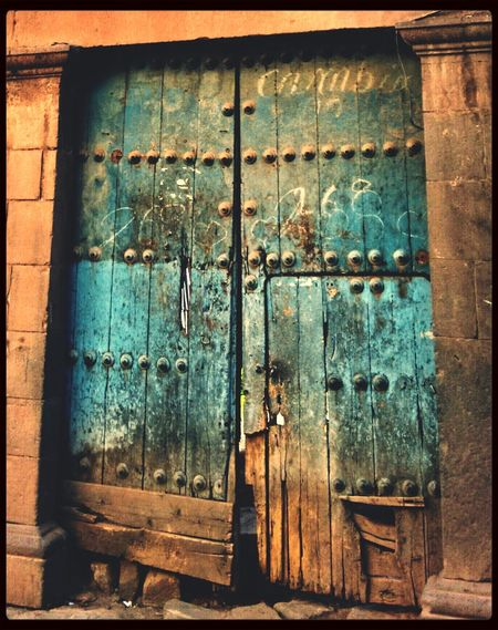 Old Door Blue