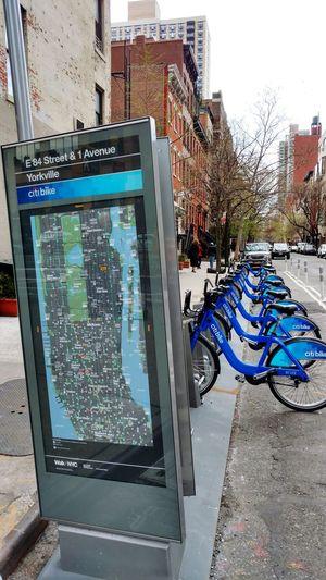 Urban Lifestyle New York City Transportation Bikes