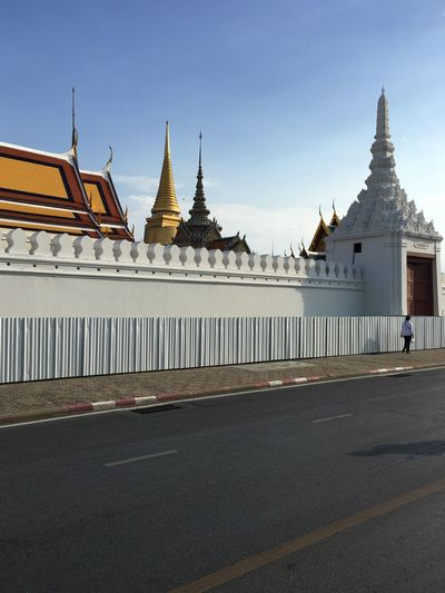 View Of Grand Palace Bangkokg Against Sky