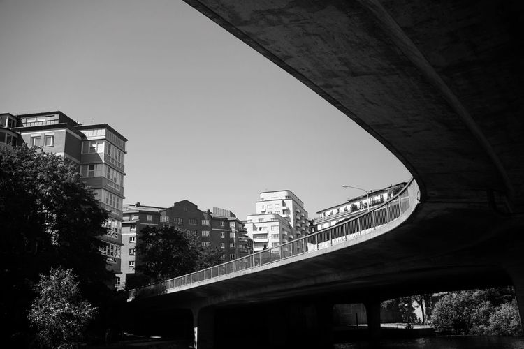 2019 Niklas Storm Juli City Bridge - Man Made Structure Modern Skyscraper Sky Architecture Built Structure Building Exterior Viaduct Overpass Road Intersection Urban Skyline My Best Photo The Street Photographer - 2019 EyeEm Awards The Architect - 2019 EyeEm Awards