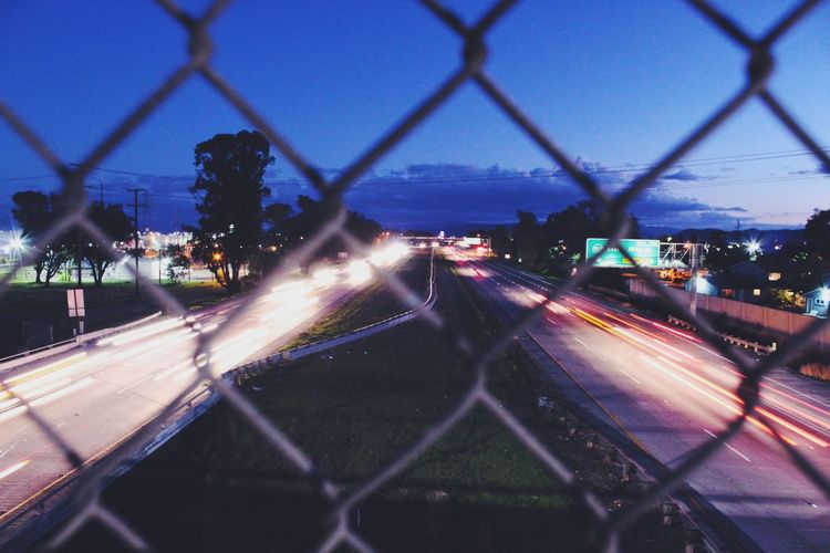 All The Neon Lights Neon Freeway Long Exposure Lifeinmotion