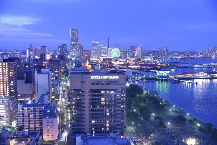 Snapshots Yokohama Snapshot Minatomirai Night Views Nightscape Night View