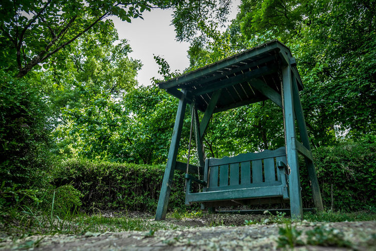 a bench in the