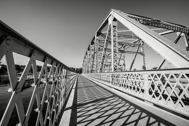 Steel Bridge; Sturgeon Bay, WI Learn & Shoot: Leading Lines Doorcounty Wisconsin Bridges Bw_collection Light And Shadow Perspectives Eye4photography  Blacoynegro Lakemichigan
