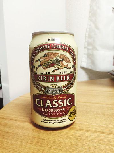 週末なので、CLASSIC LAGER Beer Beer Time 麦酒